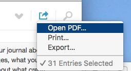 export...